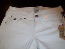 True Religion Jeans - Disco Becky Jean - White Wash ----Size 28 x 33