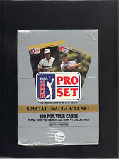 1990 Pro Set Golf lot of 4 100 card sets Nicklaus Palmer Snead Payne Stewart