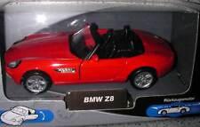WELLY - BMW Z8 Z 9 Roadster Cabriolet red - 1:32 34 36 NEW