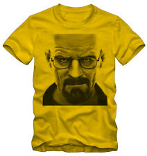 T-shirt /Maglietta Breaking Bad  Heisenberg Walter Serie TV