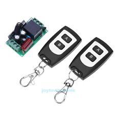 1CH 180-240V Funk Wireless RF Relais Fernbedienung Schalter Sender +Empfänger
