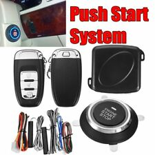PKE Car Alarm System Passive Keyless Entry Push Button Remote Starter Engine