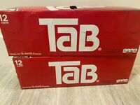 Tab Cola 12-Pack TAB Soda Drinks Unopened Discontinued SoldOut USA EXP JUN 07-21