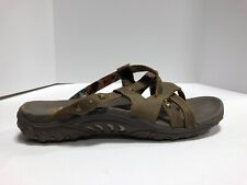 Skechers Reggae Sounstage Womens Slide Sandals Brown 11 M