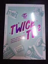 Twice - TV2 3 DVD 76 Page Photobook + Postcard New Sealed Korea Version
