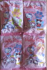 HELLO KITTY FASHION 3d * 4 cartocci * sticker + PERSONAGGIO * PANINI * NUOVO * SCATOLA ORIGINALE