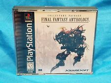 Final Fantasy Anthology PS1 Playstation With Soundtrack CD No Manual