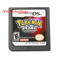 Pokemon Pearl Version (Nintendo DS,2007) Game Card For DS 2DS 3DS Christmas Gift