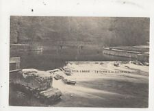Han Sur Lesse La Lesse A La Sortie De La Grotte Vintage Postcard Belgium 629a