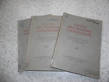 1936.Guide des missions catholiques.3/3..Henri Chappoulie
