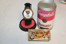 Rare 1994 Campbell's 125 Anniversary Ltd Edition Men's Watch in Tomato Soup Can