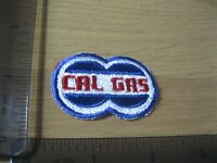 TINY CAL GAS ENERGY EMPLOYEE WORKER PATCH BADGE VINTAGE 1980S SEW OR IRON ON CY