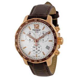 Tissot Quickster Chronograph White Dial Men's Watch T0954173603700