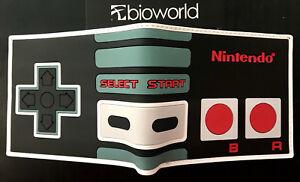 Nintendo Wallet Purse Mens Kids 3D Gaming NES SNES Wii RETRO Arcade AUS