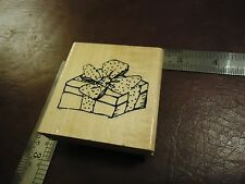 GIFT BOX WITH BOW RUBBER STAMP MIXED THEMES BIRTHDAY PARTY SHOPPING SHOWER