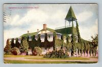 Charlevoix MI, Chicago Club, Vintage Michigan Postcard