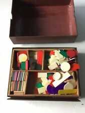 Old Chinese Game In Medal Type Box.