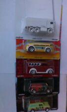 Hot Wheels Pop Culture Set of 5 Beatles Diary,Mini, Hauler, Etc. Mint on Cards