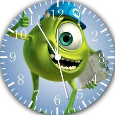 Disney Monster Inc. Borderless Wall Clock for Home Office Wall Decor A464