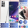6.9 inch Smartphone 12GB+512GB Android 10 EPen Face ID Unlock Mobile Cell Phone