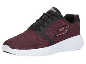 NWOB Men's  Skechers 55068/Control  GO Run 600 - in Black/red  Size us 12-D