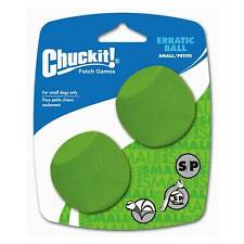 Chuckit! Dog Fetch Toy ERRATIC BALL Unpredictable Bounce Fits Launcher SMALL