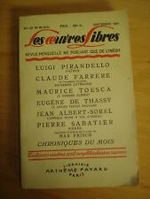Les oeuvres libres   1953