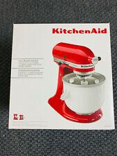 Neuwertig + unbenutzt: KitchenAid Eismaschine 5KICA0WH
