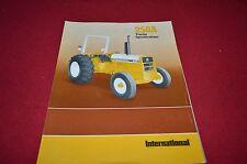 International Harvester 250 Series A Tractor Dealers Brochure DCPA4