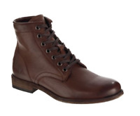 New in Box Womens Frye Boots Tyler Lace Up Boot Cognac 71448 Size 7.5 MSRP $317