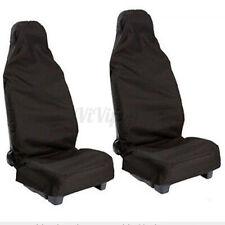 Pair Universal Waterproof Front Seat Cover Protector Car Van Nylon Heavy Duty US