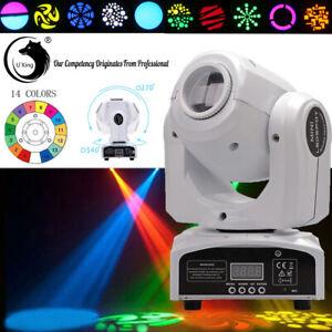 80W Spot RGB Moving Head Bühnenlicht Gobo Muster lichteffekt Disco DMX512 Party