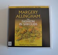 The Fashion in Shrouds: by Margery Allingham - Unabridged Audiobook - 10CDs