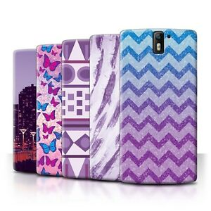 STUFF4 Back Case/Cover/Skin for OnePlus One/Purple Fashion
