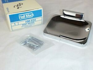 NOS Vtg Hall Mack Polished Chrome Coronado Soap Holder Dish  HM620