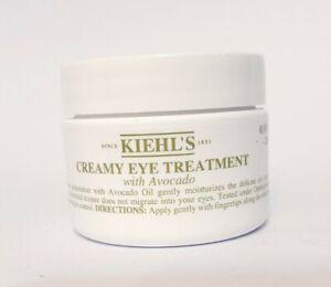 KIEHL`S CREAMY EYE TREATMENT CREAM WITH AVOCADO OIL LARGE 28ML SEALED JAR