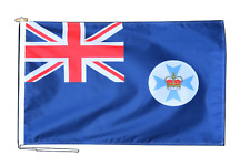 More details for queensland australia flag 3'x2' (90cm x 60cm) with rope and toggle