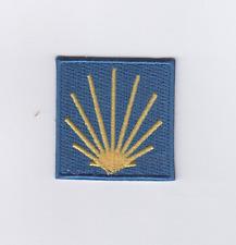 Jakobsmuschel Patch,Aufnäher für Jakobsweg Pilgerreise,Spanien