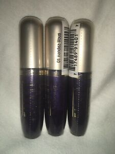 (LOT of 3 ) MILANI CRYSTAL GLOSS for LIPS - # 01 RENDEZ-VOUS BRAND NEW & SEALED