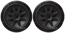 "(2) New! Kicker 43Cvr122 Compvr 12"" Inch 1600 Watts Car Audio Subwoofers Package"