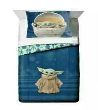 Star Wars Mandalorian The Child Baby Yoda 2 Piece Comforter Set Twin Full