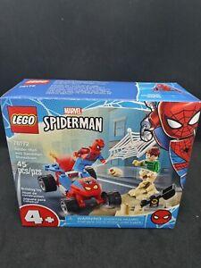 LEGO Marvel Spider-Man and Sandman Showdown 76172 Building Kit 45pcs