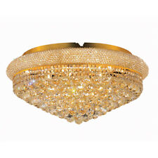 FRENCH EMPIRE FLUSH MOUNT ASFOUR CRYSTAL CHANDELIERS BEDROOM BATHROOM KITCHEN