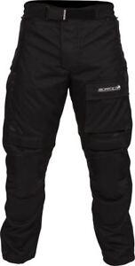 Buffalo NRG Black Textile Waterproof Motorcycle Trousers New