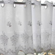 1y Cotton Embroidered lace Window Valance curtain yh1425 (90x33cm) laceking2013