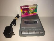 Rca Portable Tape Cassette Player Recorder Model Rp3504-A w/ Memorex Blank Tape