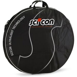 NEW- Scicon Double Wheel Bag Padded-2019 - black red