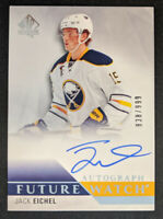 2015-16 SP Authentic Future Watch Autograph /999 JACK EICHEL RC Auto #191 Sabres