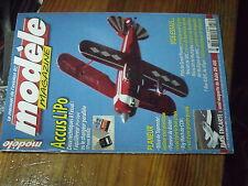 5µ?§ Revue Modele Magazine n°653 Plan en encart Robin DR 400 / T-Rex 450 XL