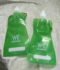"""40 x Trink- Faltflaschen """"Basic"""", grün, mit Werbung"""